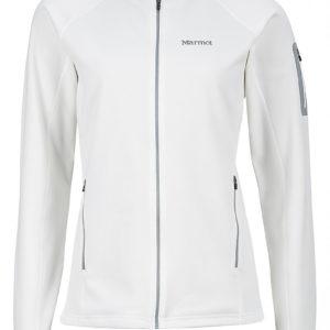 Wm's Stretch Fleece Jacket Soft White MARMOT