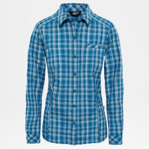 Camicia Zion BLUE CORAL PLAID THE NORTH FACE
