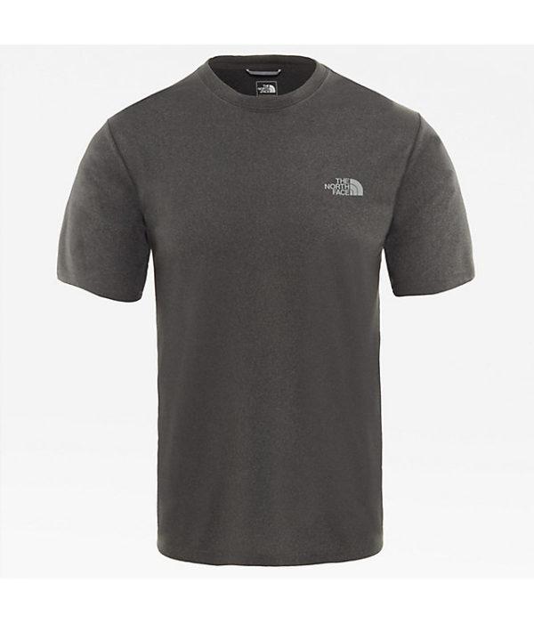 T-shirt girocollo Reaxion Amp grigio THE NORTH FACE