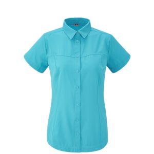 Camicia escursionismo LD SKIM SHIRT Blue LAFUMA