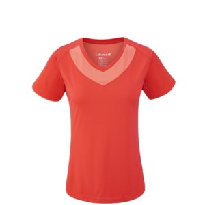 T-shirt escursionismo LD TRACK TEE Red LAFUMA